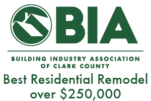 Clark County Building Industry Association Best Residential Remodel over $250,000